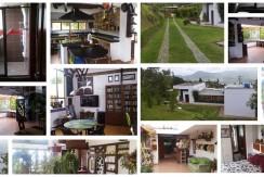 Casa campestre. (área total 3.000 m²-área casa 350 m²).