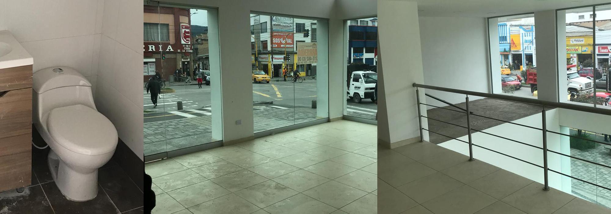 Dos Locales en arriendo o en venta 145m² 131m²  (Sector Centro)